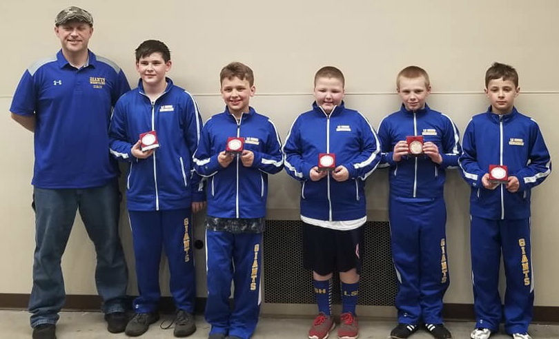 LS-H youth wrestling individual state placers