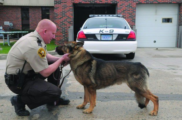 Sheriff's Office seeking community support to bring K-9 unit back to Steele County
