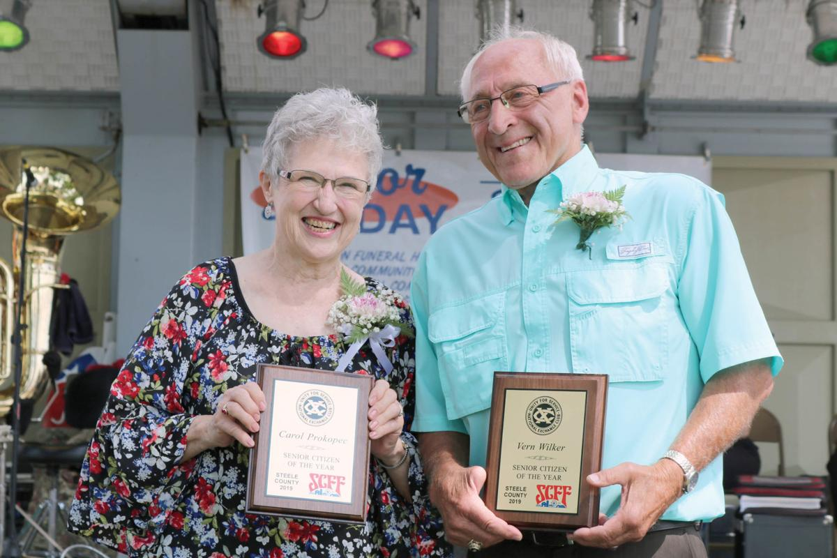 Wilker, Prokopec honored as 2019 Senior Citizen Volunteers