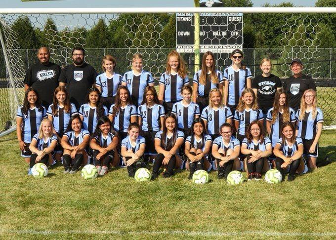 TCU girls soccer team