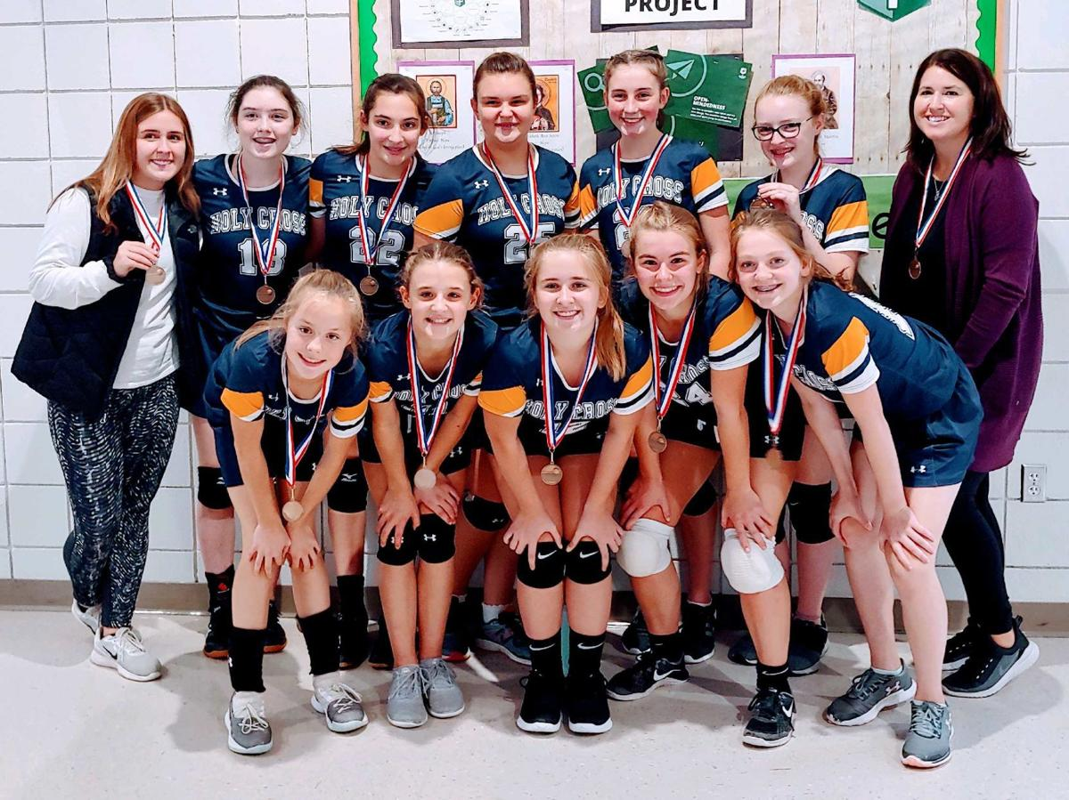 Holy Cross volleyball scores- Oct. 8-14