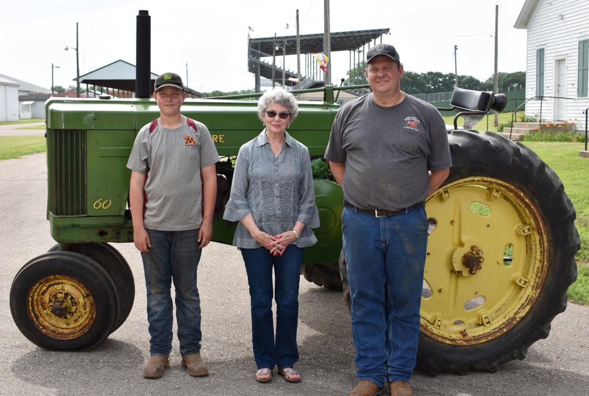 Restored tractor preserves history of Pirkl Implement, city's John Deere dealer