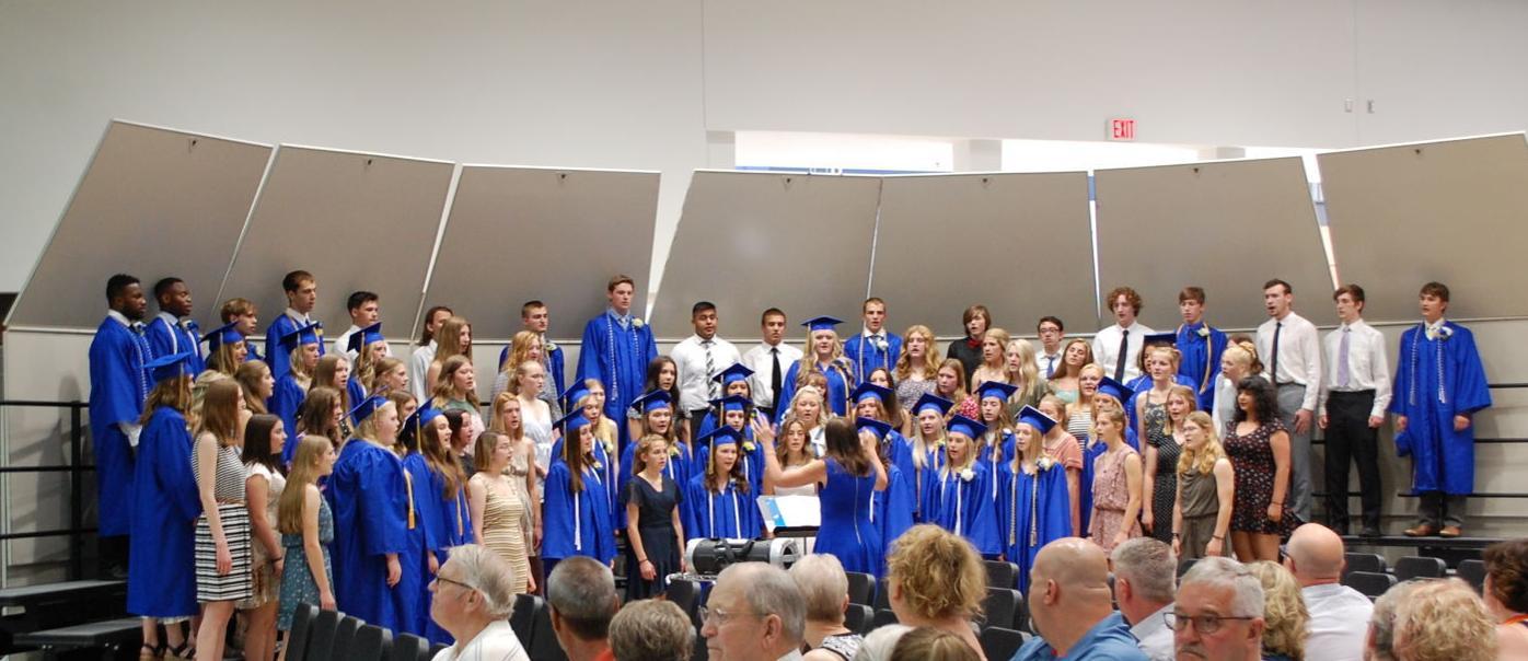 Deb Wantoch-Yess graduation choir