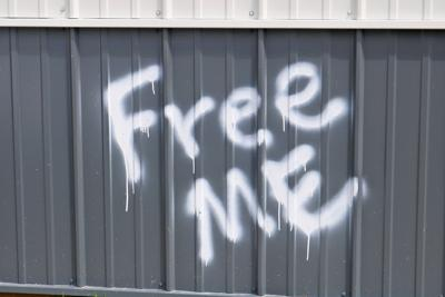 Fairgrounds graffiti