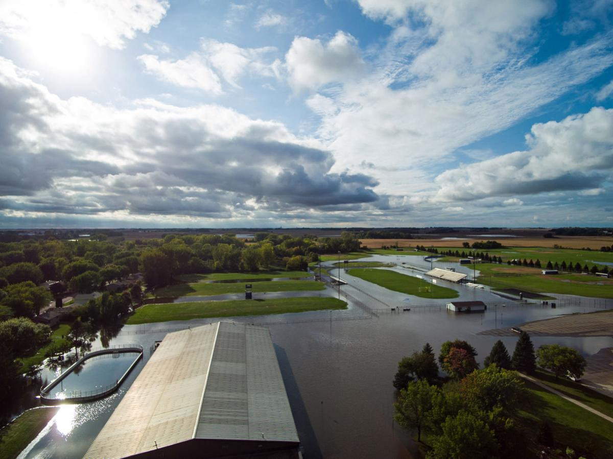 GALLERY Aerial photos show extent of Waseca County flooding