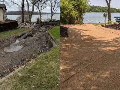 Circle Lake Erosion Control Project