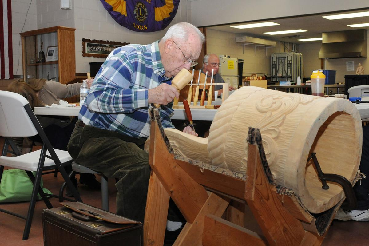 Wood carving group looks to share craft, pass on knowledge