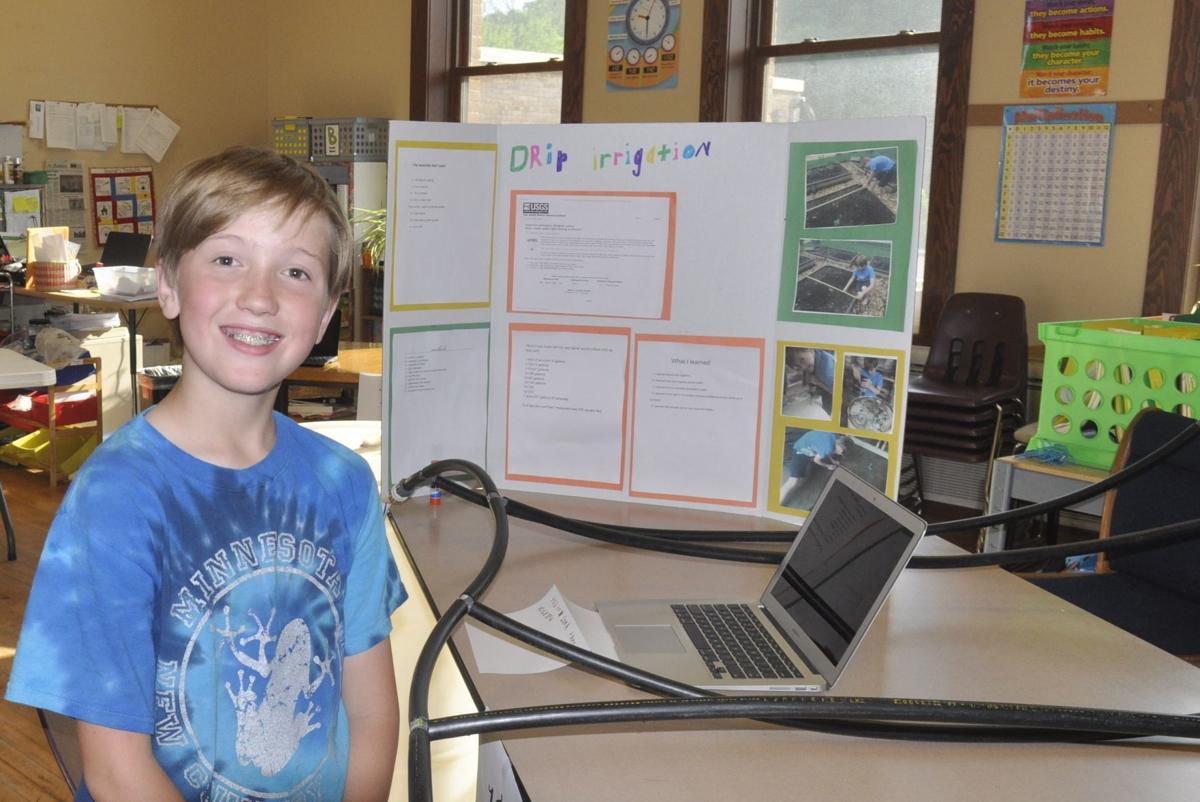 Minnesota New County Schools shows off student work