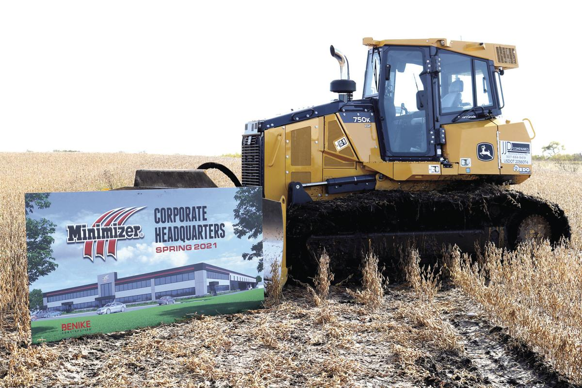 Minimizer breaks ground on two-year transition to Owatonna