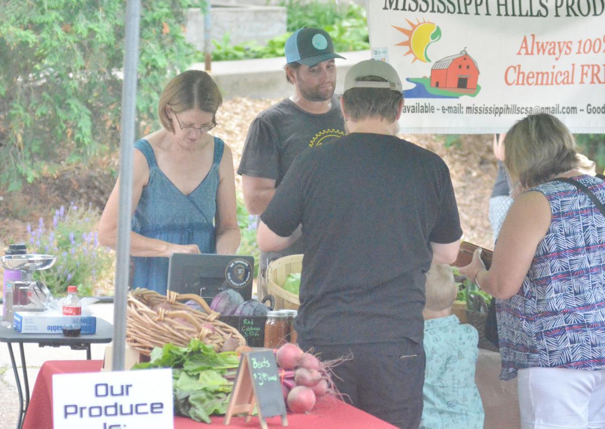 Produce makes long-awaited debut at Riverwalk Market Fair