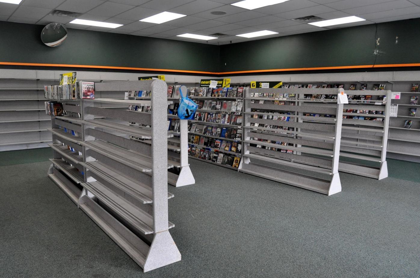 family video empty shelves