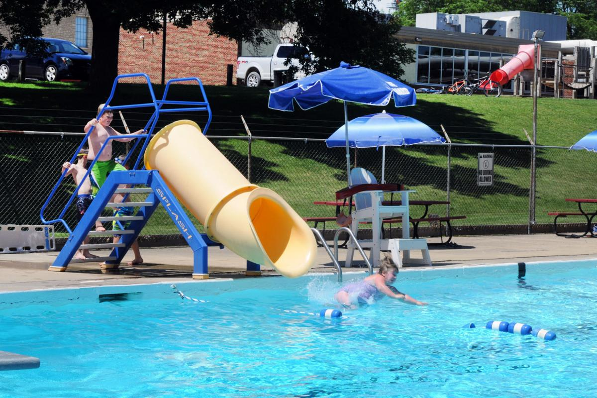 Wanamingo pool open for summer fun community for Opening pool for summer