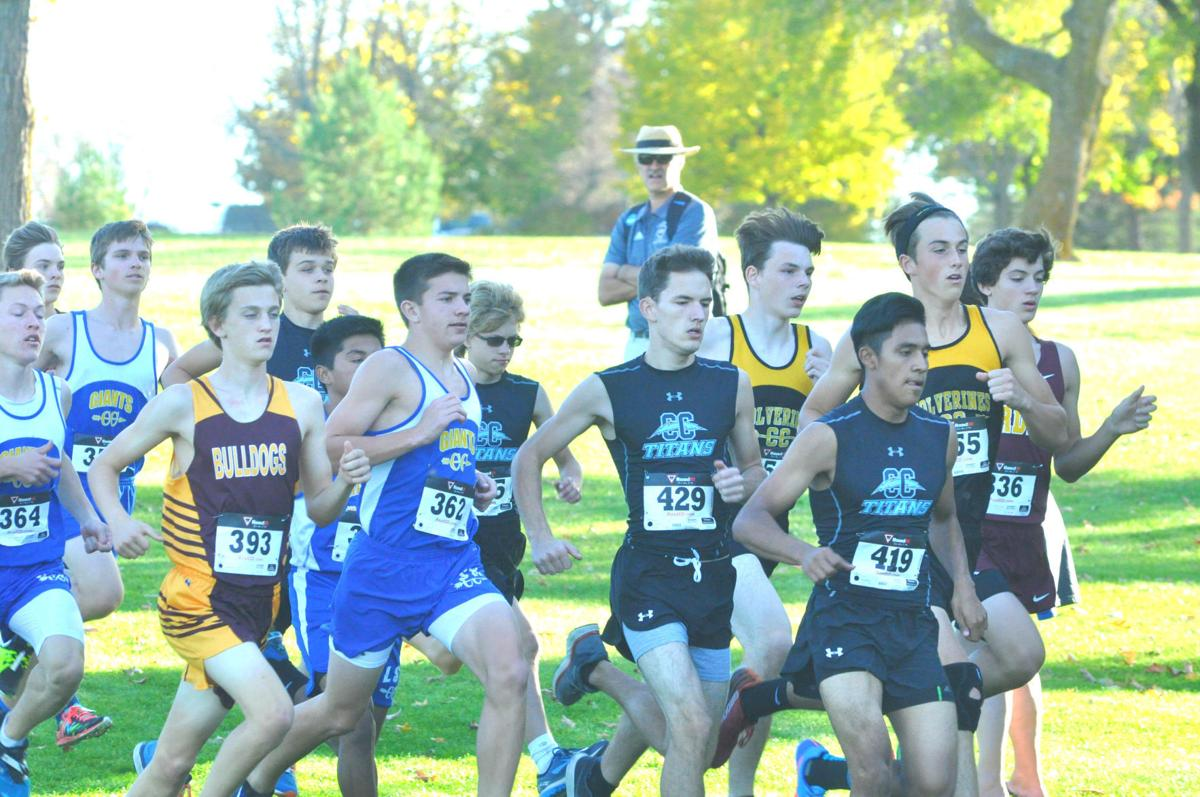Ruiz finishes as only Titan all-conference runner