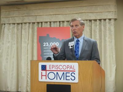 Marvin Plakut, the CEO of Episcopal Homes of Minnesota