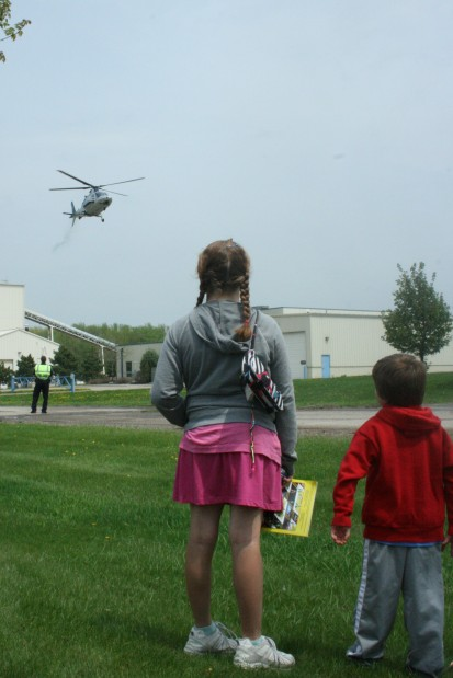 Helicopter sighting