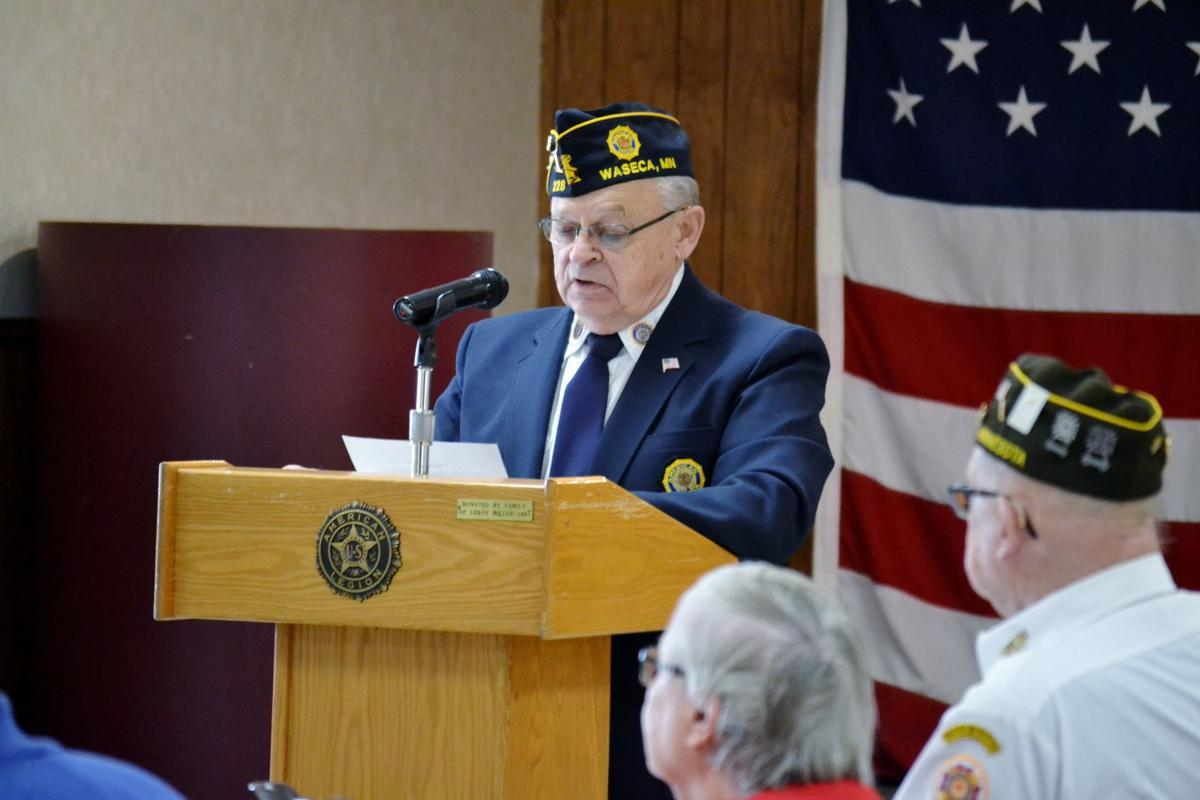 Legion Veterans Day celebration emphasizes unity in a time of division