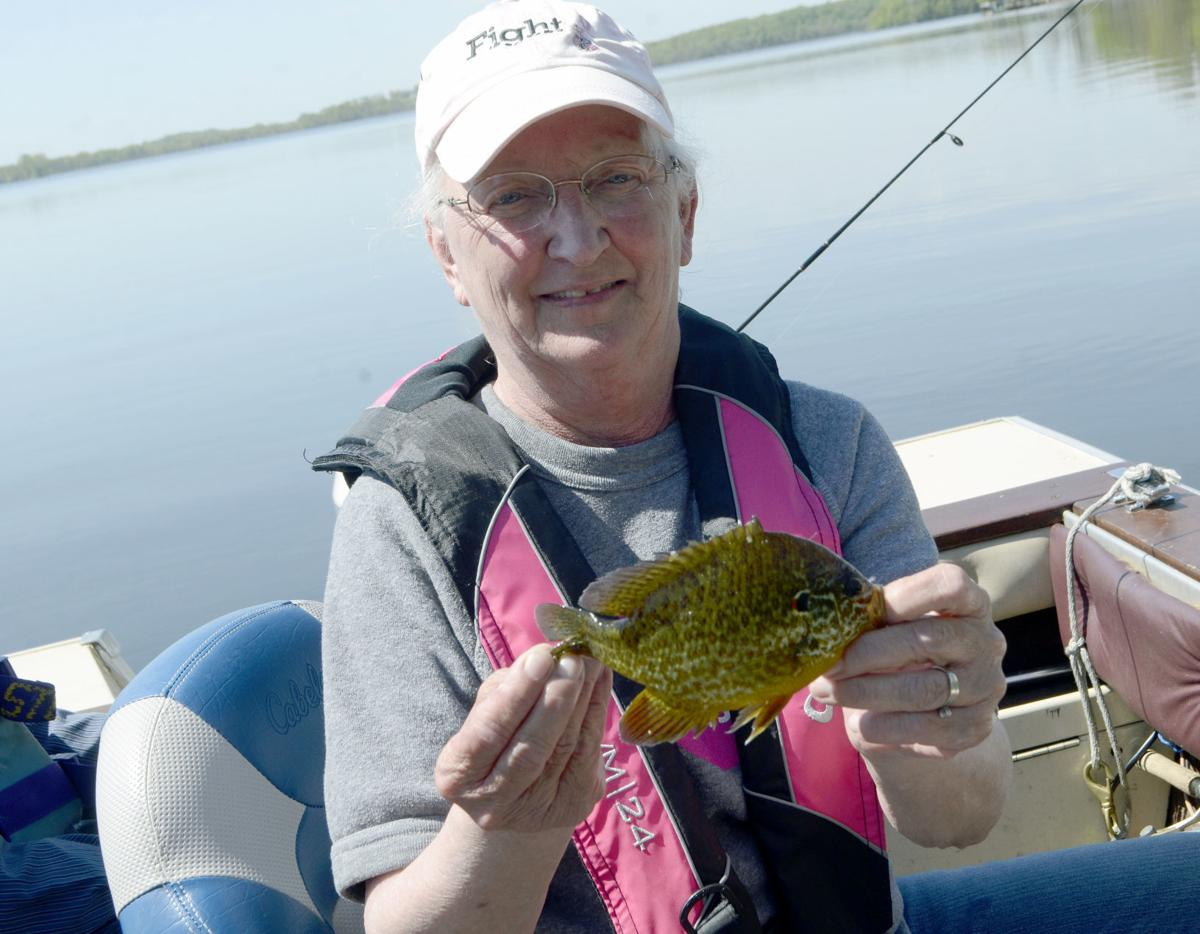 Nancy Ross sunfish