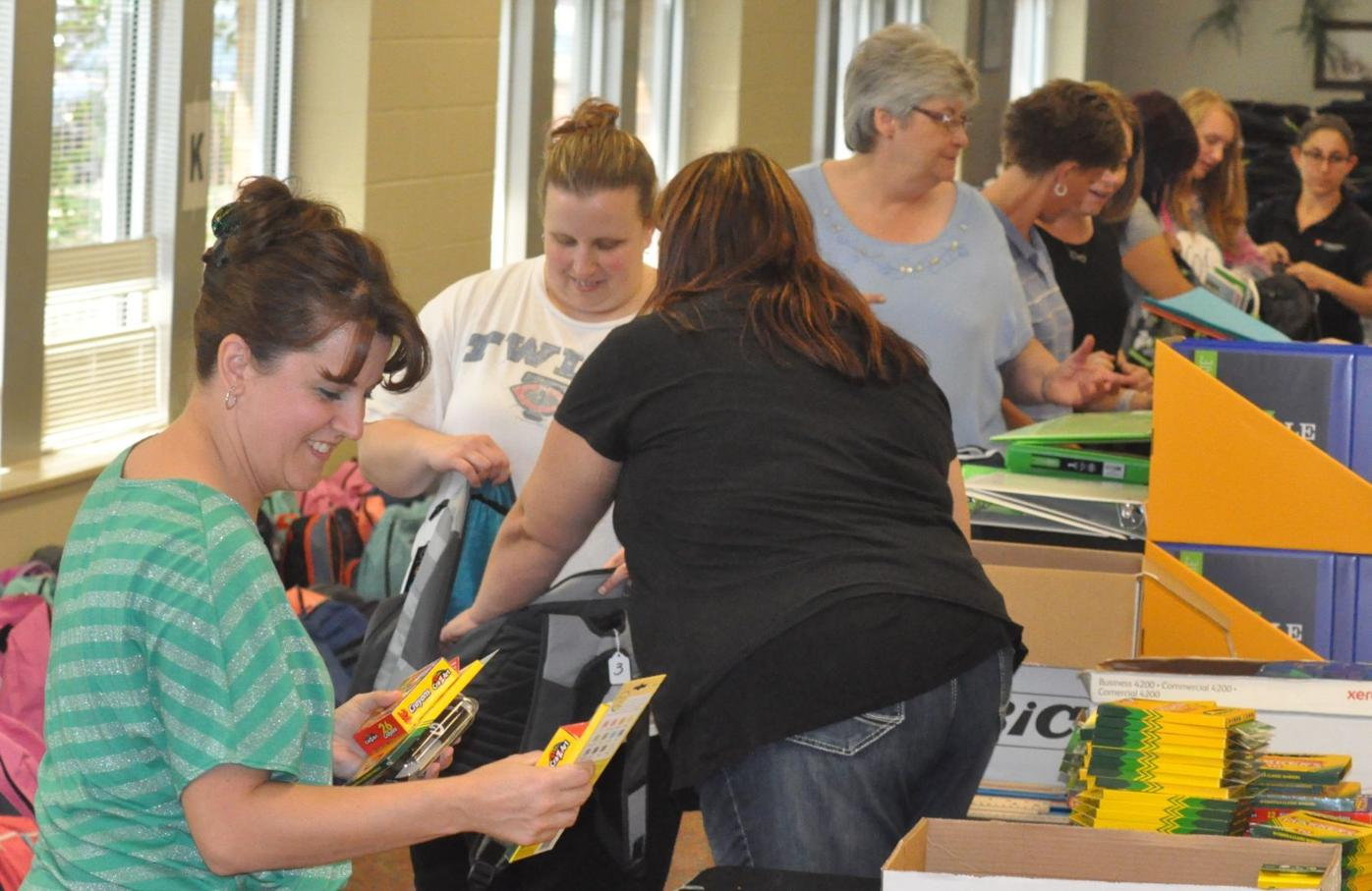 St. Peter Friends of Learning Backpack Project