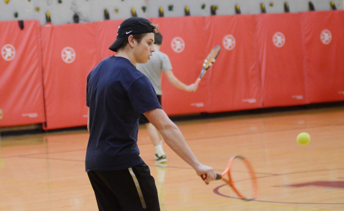 Local tennis teams get creative with solutions to lack of indoor facility