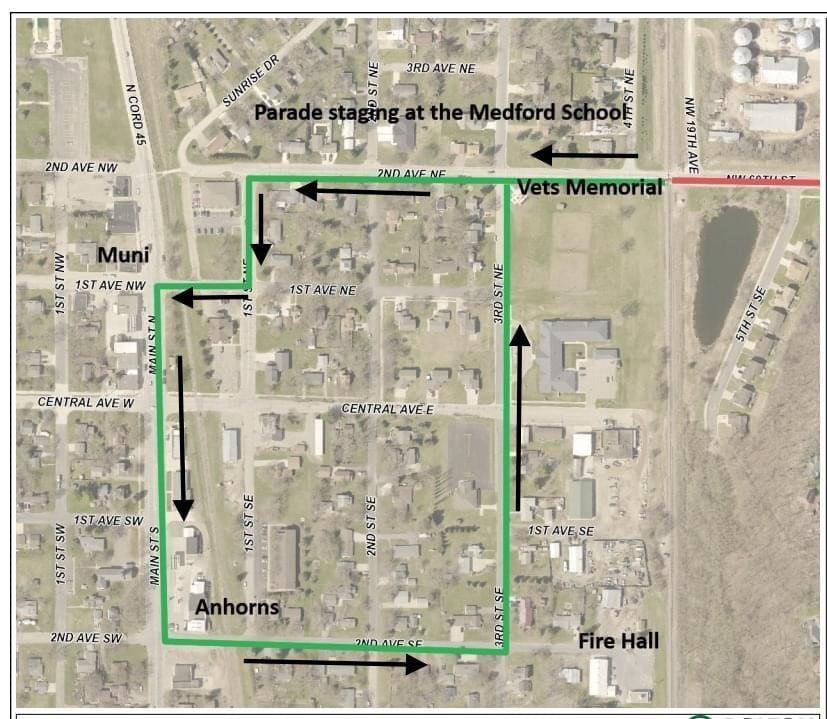 SRD Parade Route