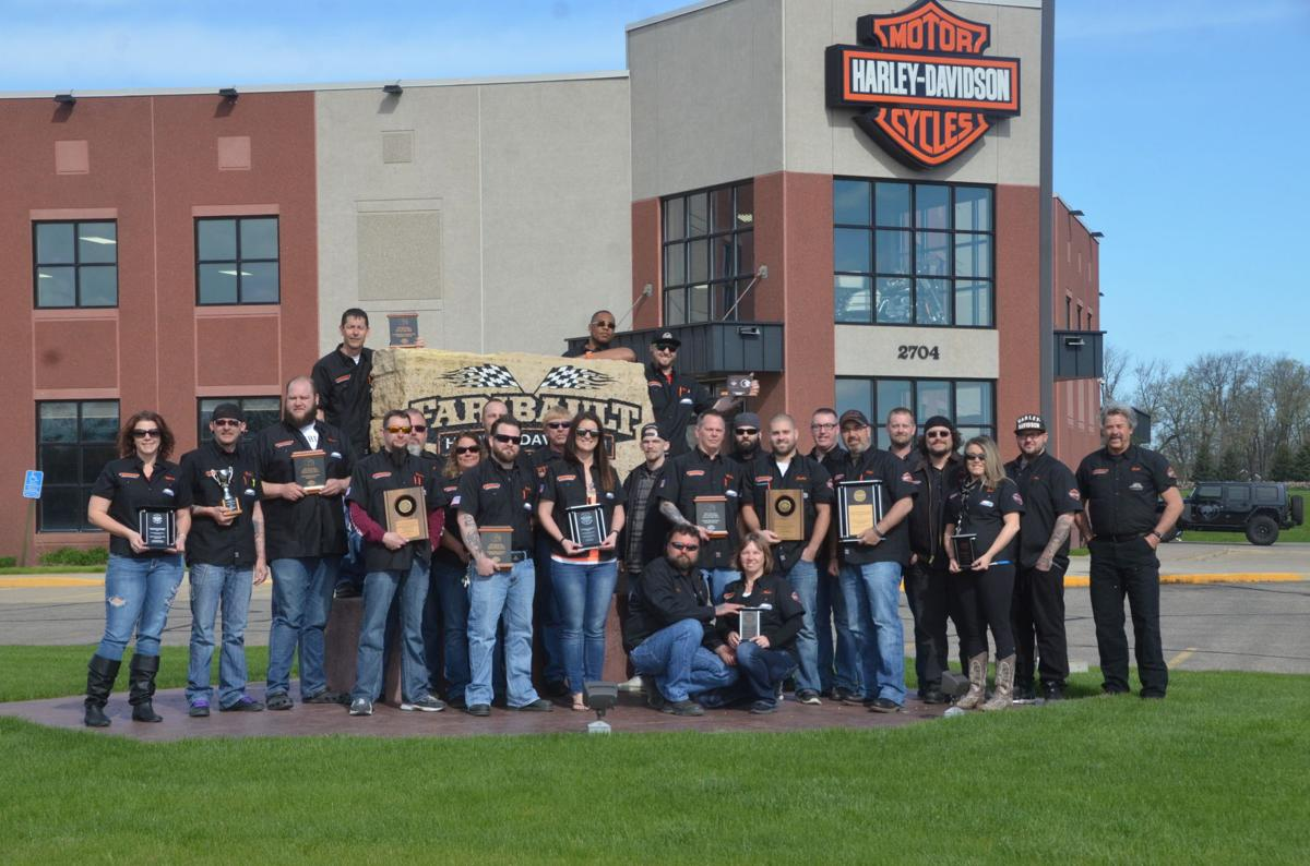 From humble beginnings, Harley-Davidson celetes 40 years in ...