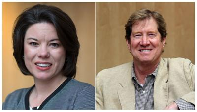 Angie Craig and Jason Lewis