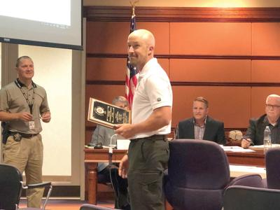 training and compliance officer receives statewide award | news