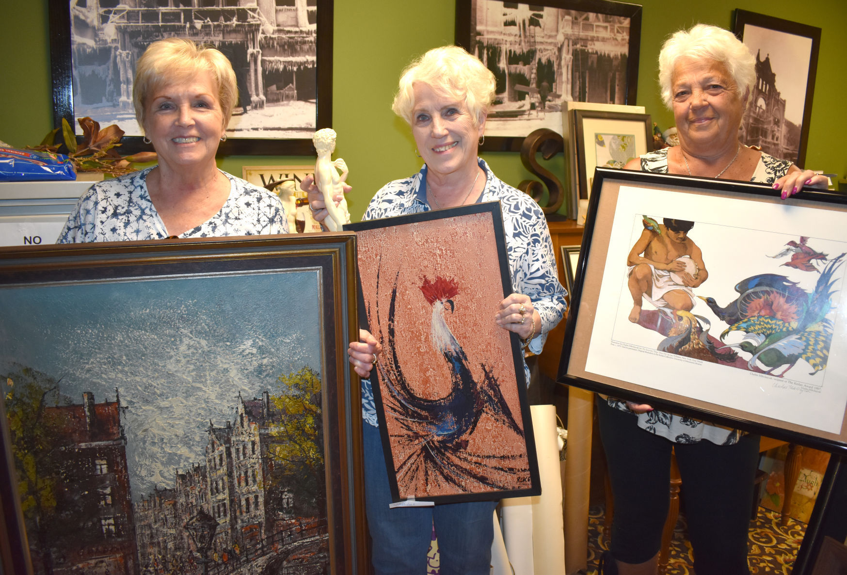 Art sale proceeds to fund Bishop Whipple mural