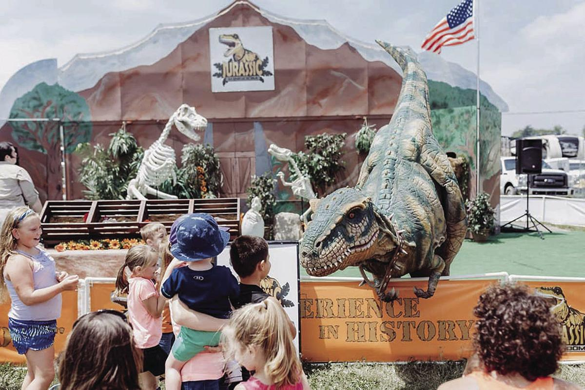 JURASSIC KINGDOM: Dinosaurs to bring prehistoric flare to Steele County Free Fair