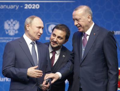 APTOPIX Turkey Russia