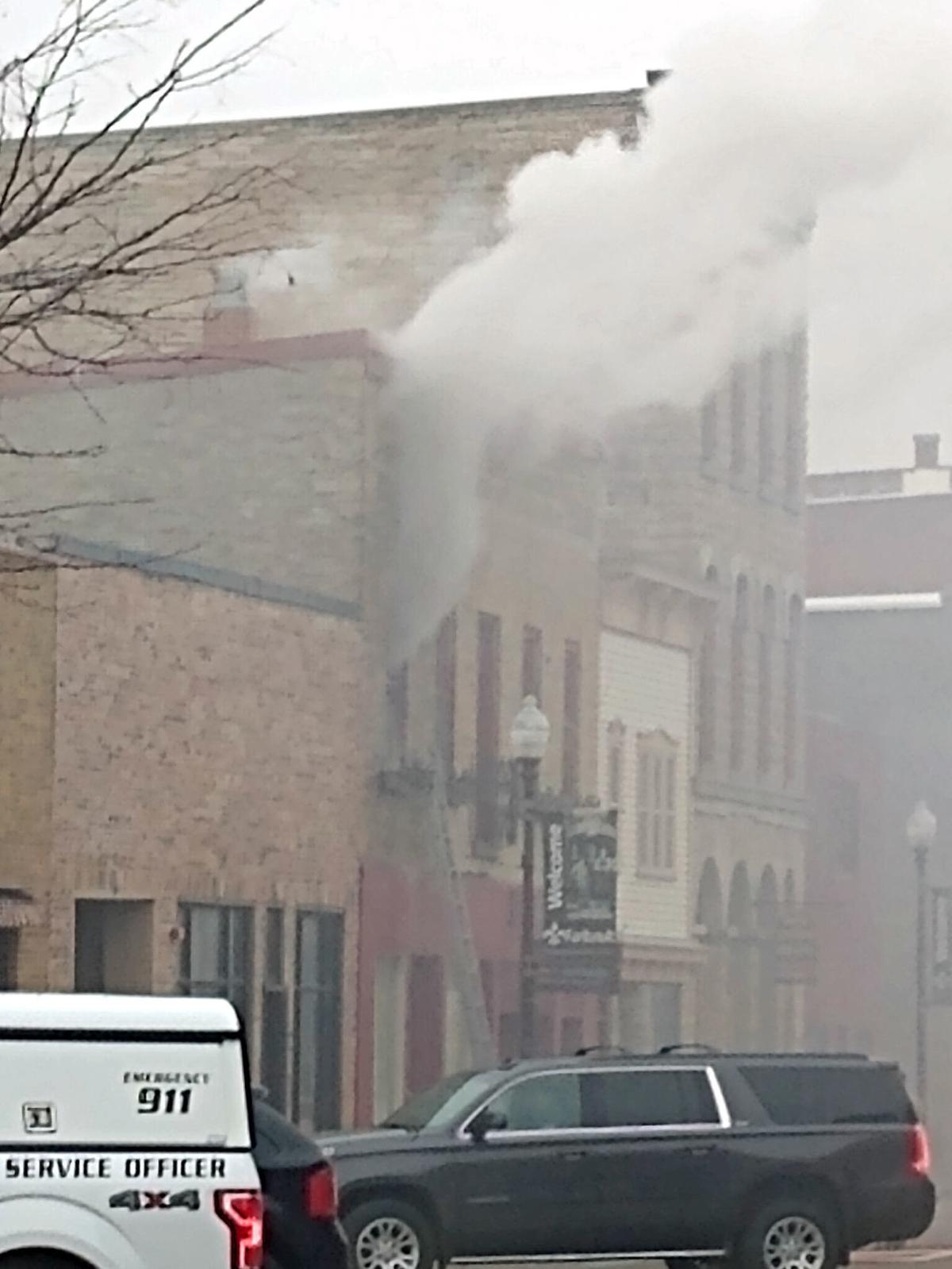 Central Ave. fire