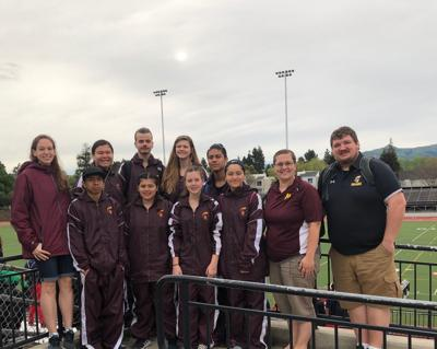 MSAD track and field at Berg/Seeger Classic