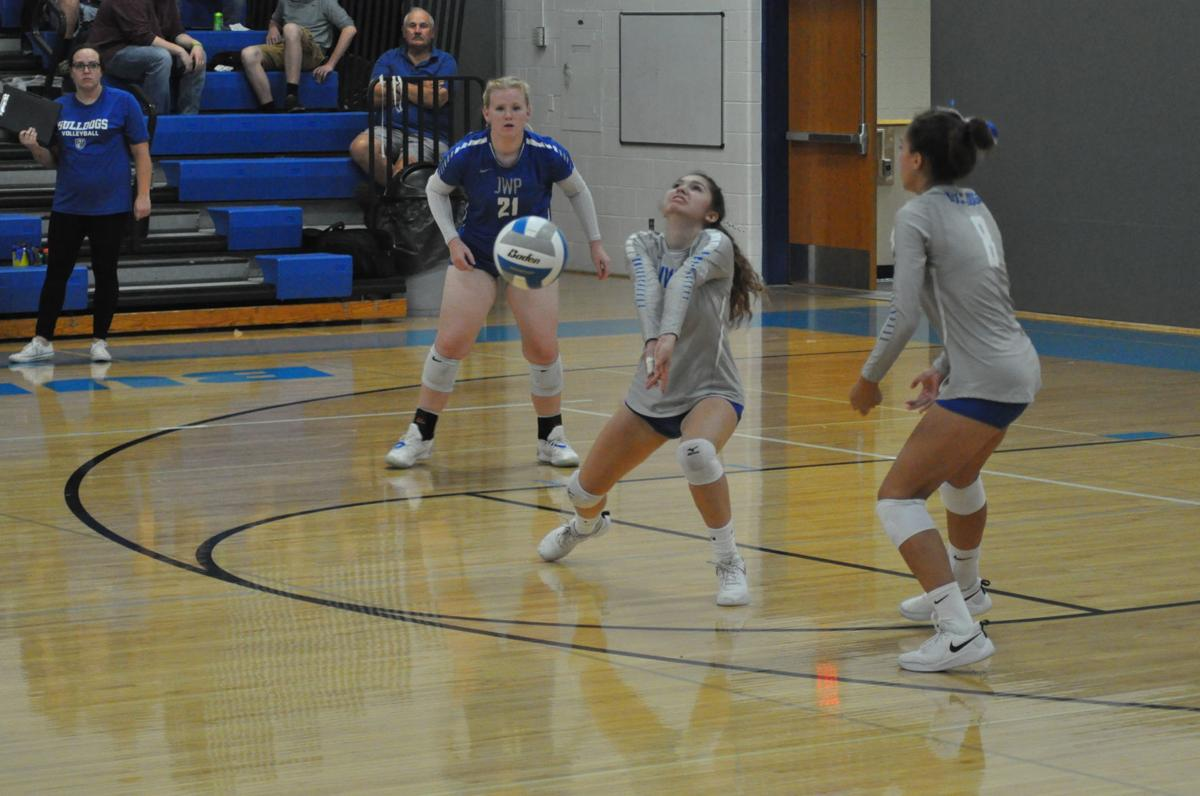 JWP volleyball faces defeat against Mountain Lake
