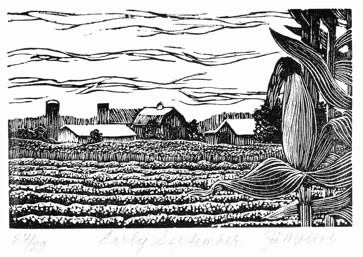 Three-year wood engravers exhibition lands in St. Peter, featuring local artist