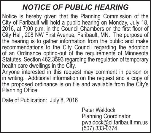 Public Hearing Notice 2x3