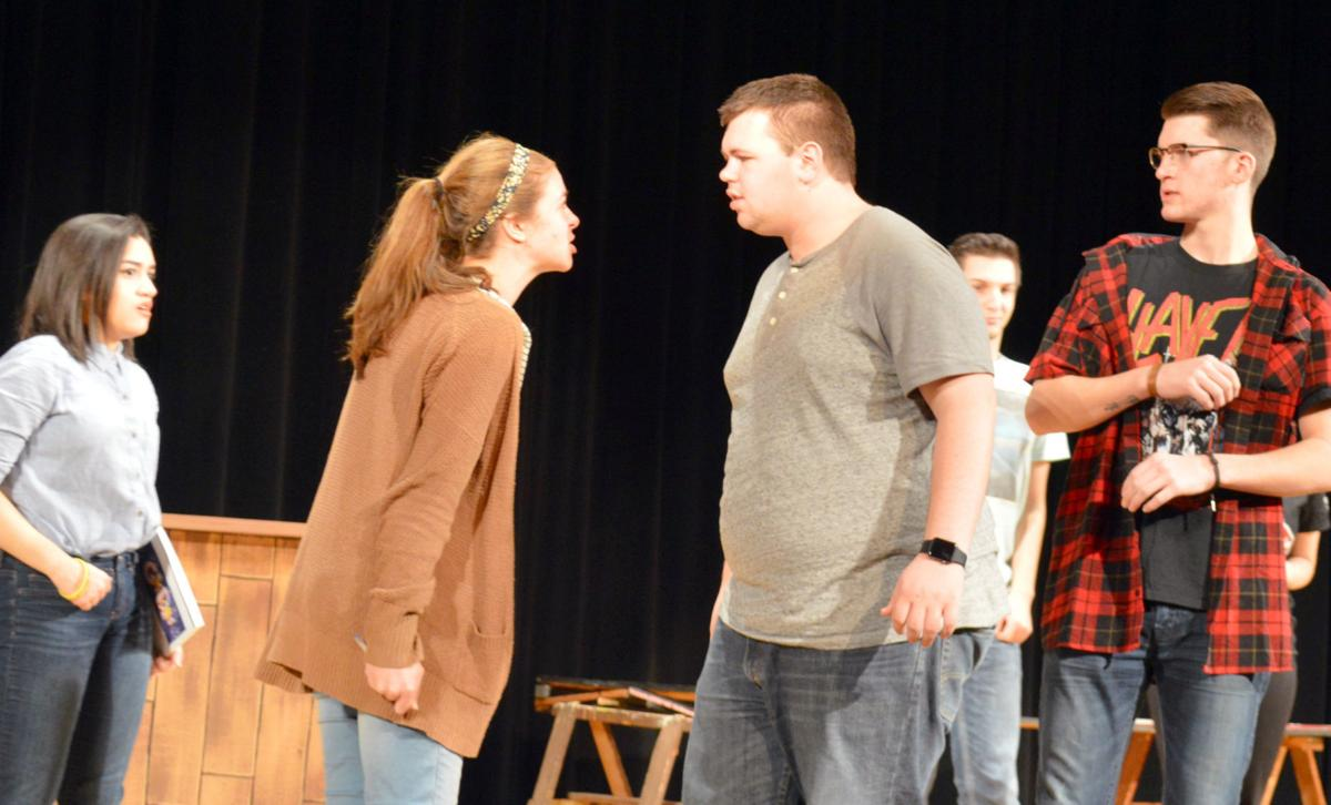 GALLERY Waseca students bring one act play to local contest