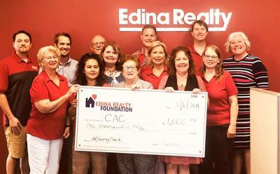 Edina Realty CAC donation