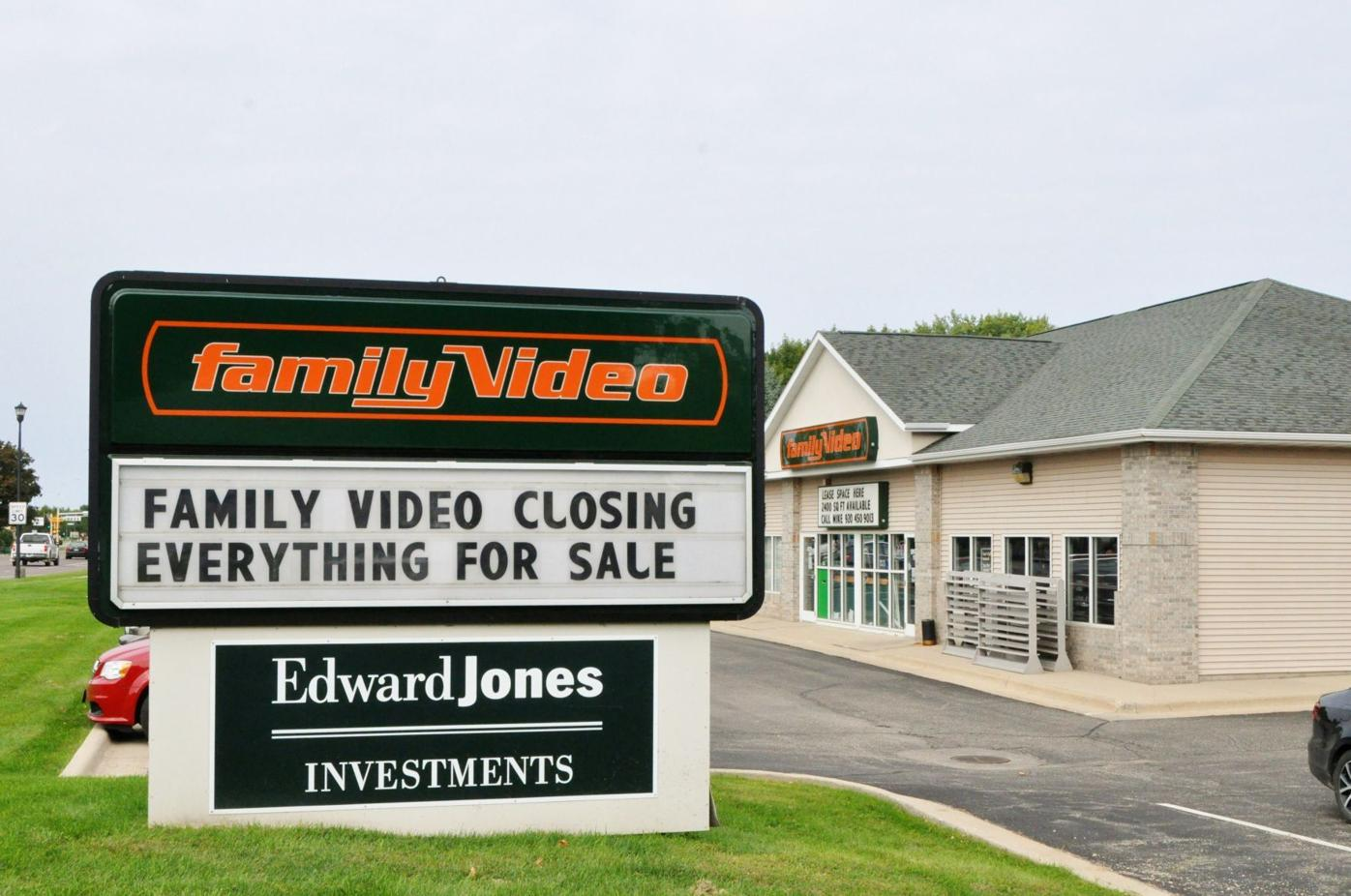 family video sign