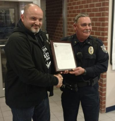 Officer Steve Johnson named to SRO position