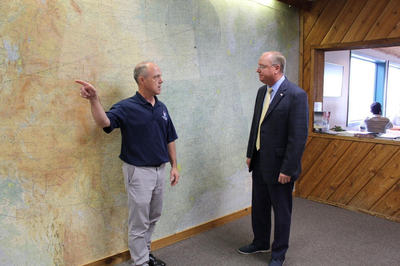 Hagedorn discusses federal funding for Owatonna airport 1