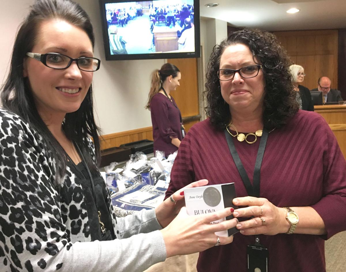 Board honors county employees with milestone anniversaries