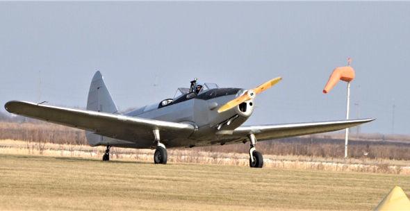 Kirk Hiner plane