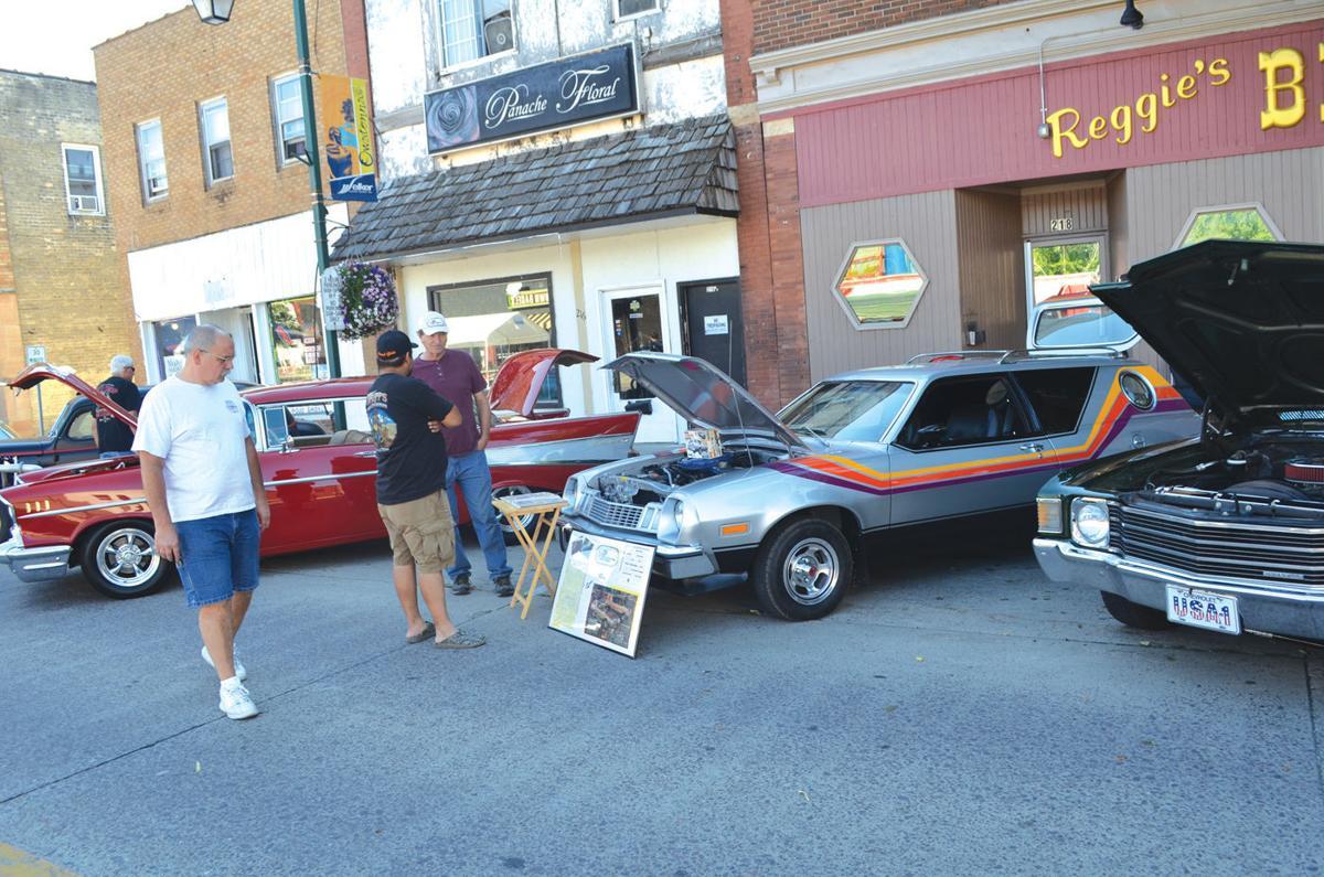 Car show highlights first evening of Crazy Days