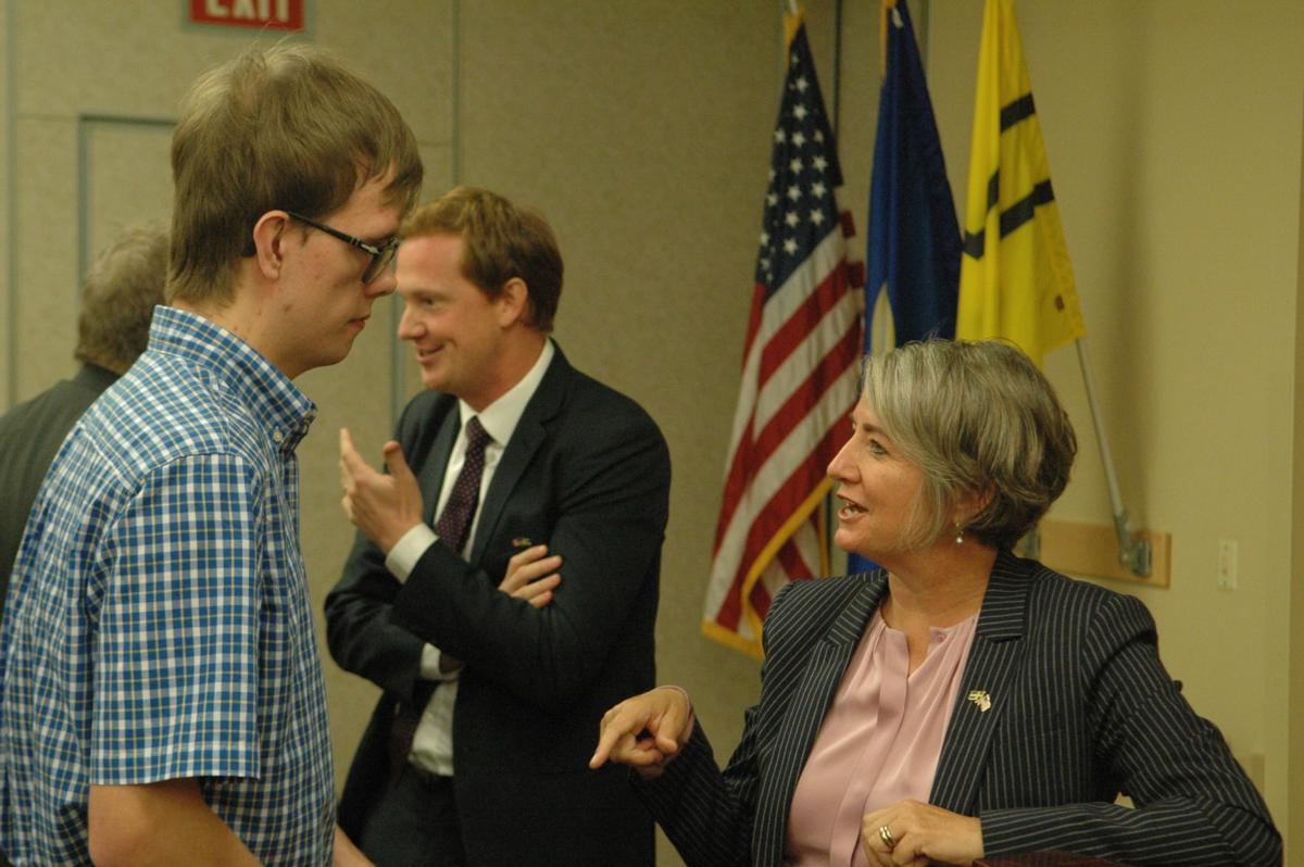 Swedish ambassador welcomed at Gustavus