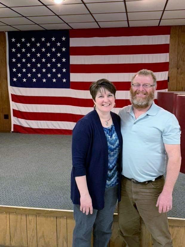 Paul and Sarah Berry