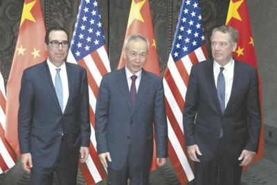 APTOPIX China US Trade