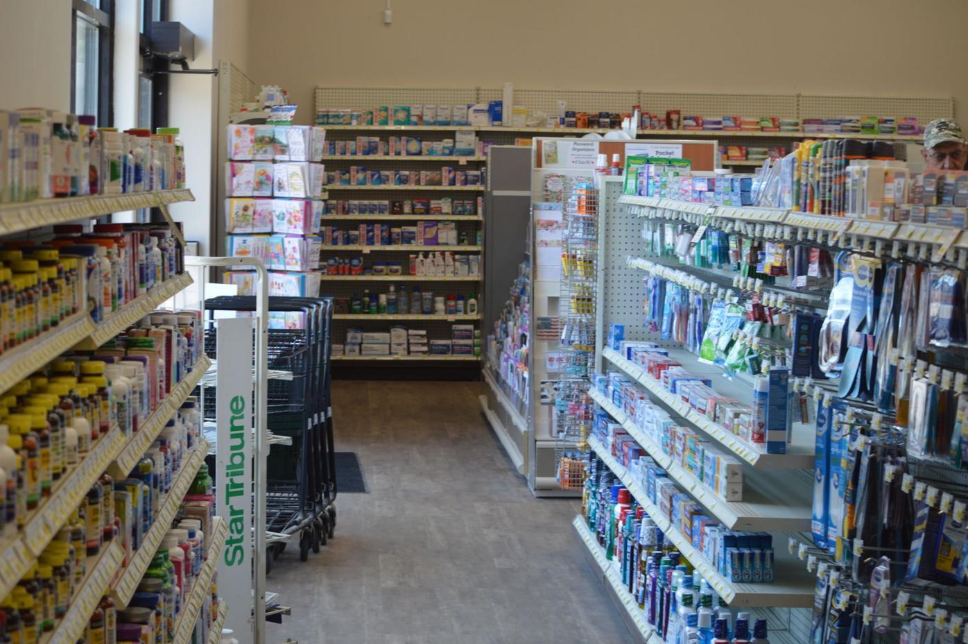Corner Drug aisles