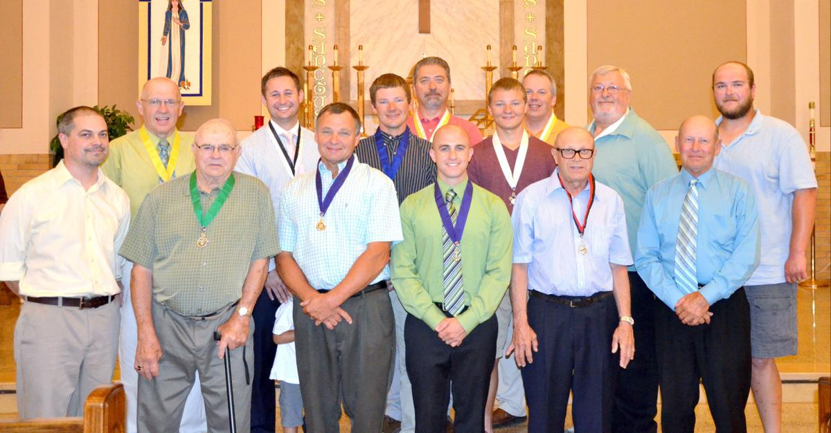 knights of columbus forms a council in lonsdale lonsdale