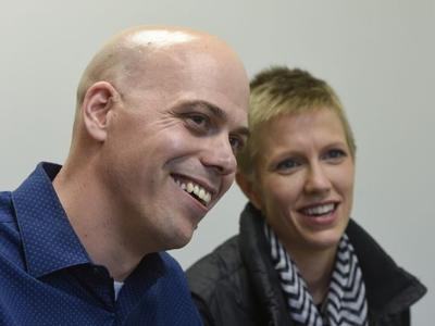 Carl and Angel Larsen