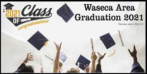 Waseca Area Graduation 2021